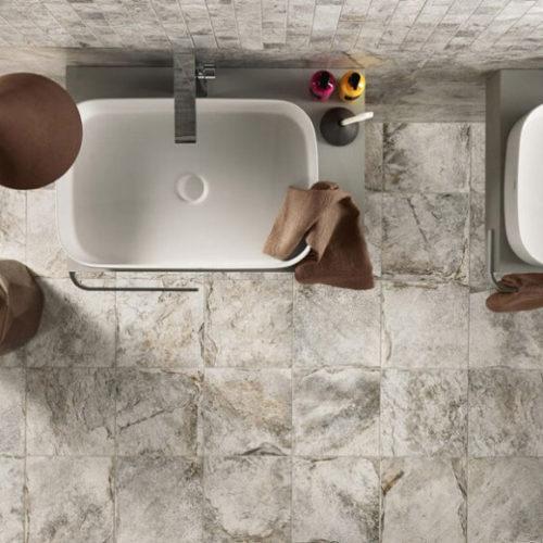 Фото Керамогранит для пола и стен большого формата. Коллекция Firestone, Италия