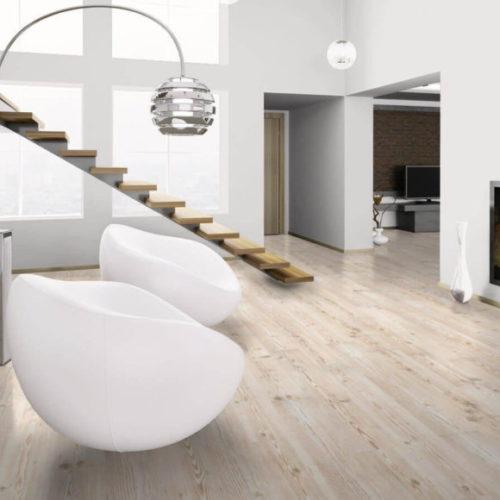 Виниловое покрытие для гостиной, кухни. Коллекция PURLINE Wood Malmoe Pine