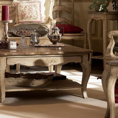 фото Столи, столики, стільці в стилі Прованс. Натуральне дерево, ручна робота. Колекція Chateau, Франція
