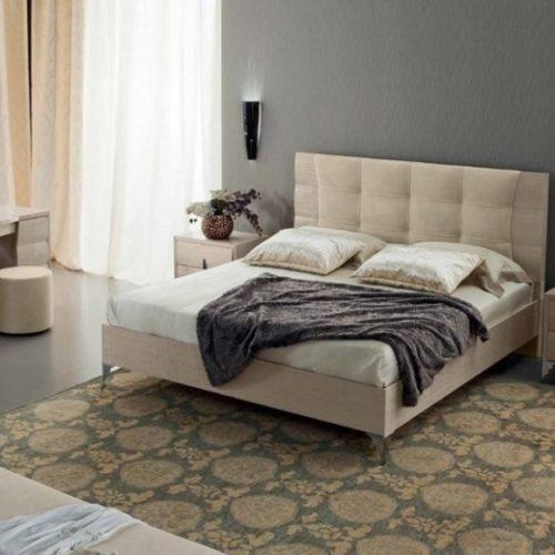 фото Спальный гарнитур. Кровать, комод, банкетка, тумбы прикроватные. Коллекция Dune, Итали