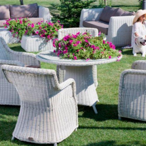 фото Комплект меблів для тераси зі штучного ротанга. Колекція Riccone, Голландія