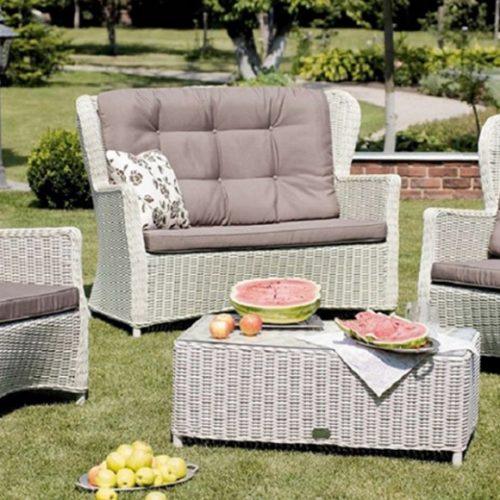 фото Комплект меблів з ротанга. Диван і крісла зі знімними подушками. Колекція Sienna, Голландія