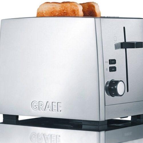фото Тостер с регулировкой степени поджаривания хлеба. Graef, Франция. АКЦИЯ