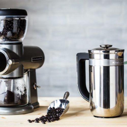фото Кофемолка. Множество настроек помола кофе. KitchenAid, США