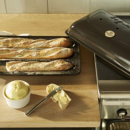Керамічна форма для випічки багета Emile Henry, Франція