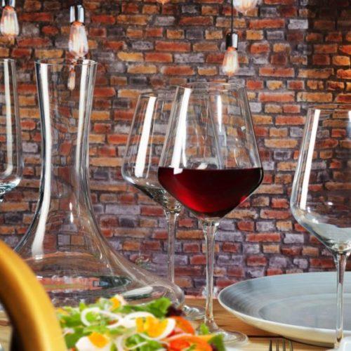 Набір келихів для вина Krosno, Польща