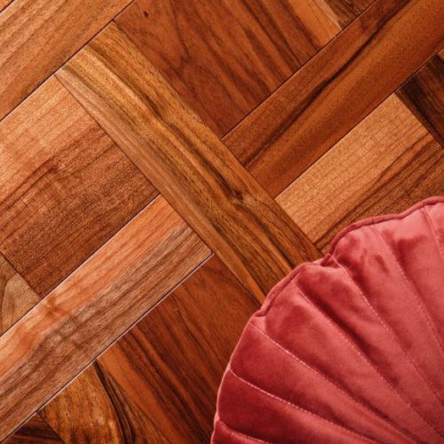 Фото Паркет художній. Американський горіх натуральний. Колекція Версаль, Україна
