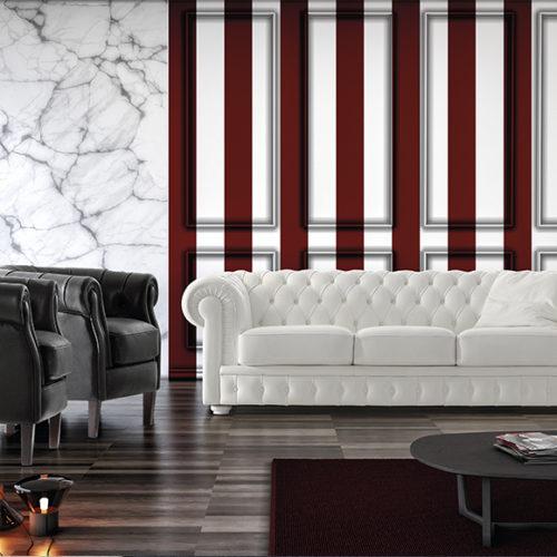 фото Комплект мебели для гостиной. Диван и кресла. Натуральная кожа. Коллекция Mozart, Италия