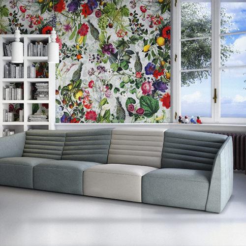 фото Диван двухцветный. Коллекция Orchidea, Италия