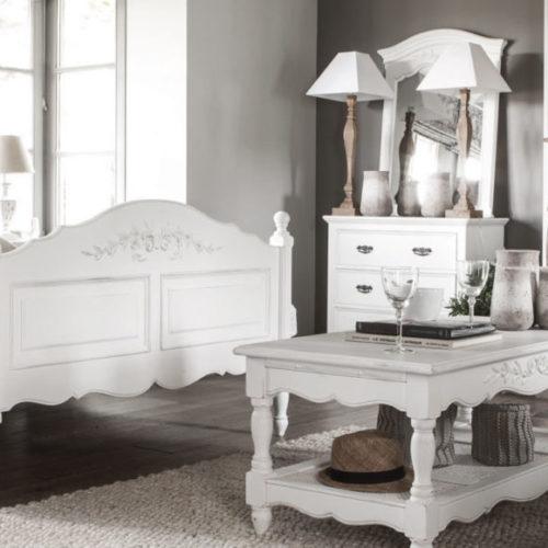 фото Спальня в стиле Прованс. Натуральное дерево. Коллекция Romance, Франция