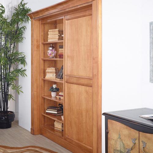 фото Система модульная для кабинета или гостиной. Натуральное дерево, ручная работа. Коллекция Boheme, Португалия