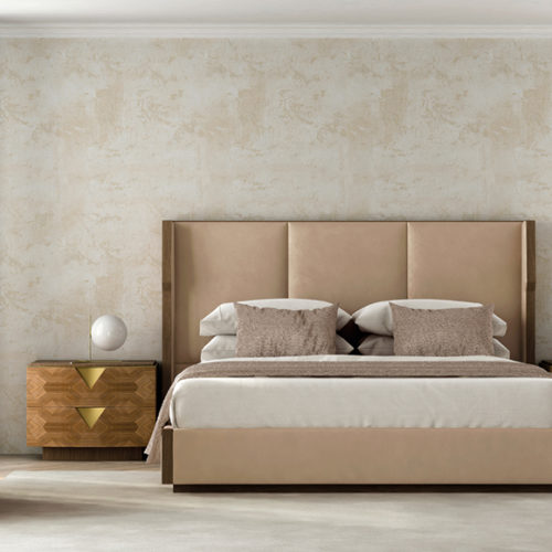 фото Комплект мебели для спальни. Кровать из коллекции Dream, комод и прикроватная тумбочка из коллекции Аvalon, Португалия
