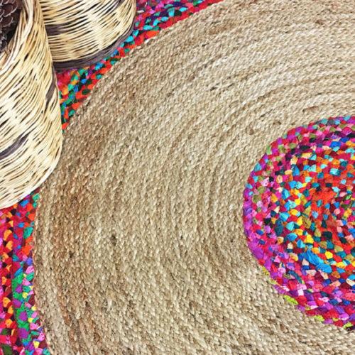 фото Килим із сизалю ручної роботи. Колекція Flatweave, Індія