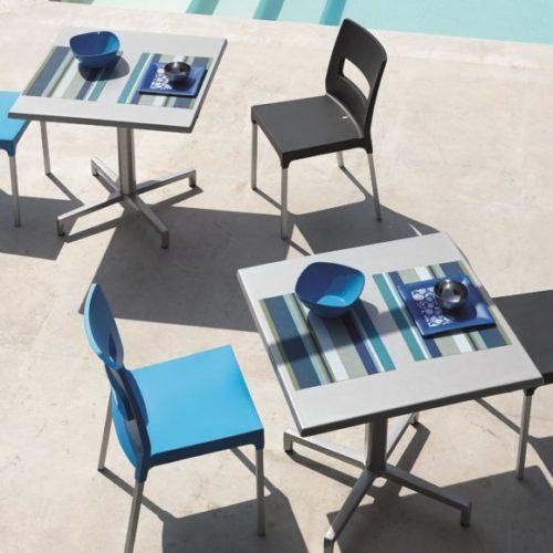 фотоКомплект меблів для тераси, басейну. Колекція MAXI DIVA, Італія