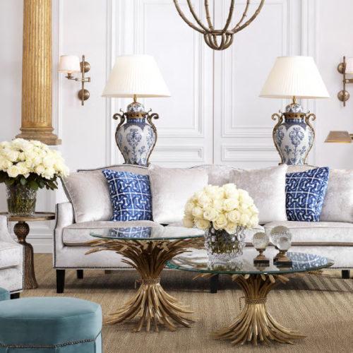 фото Мебель мягкая для гостиной. Диван и кресла из коллекции Merlin, Голландия