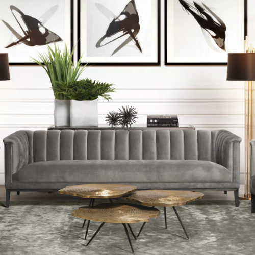 фото Комплект мягкой мебели для гостиной. Диван и кресла. Коллекция Raffles, Голландия