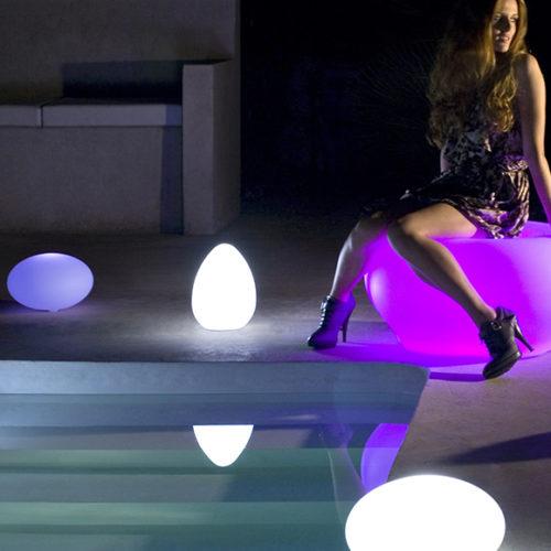 Комплект переносных дизайнерских светильников