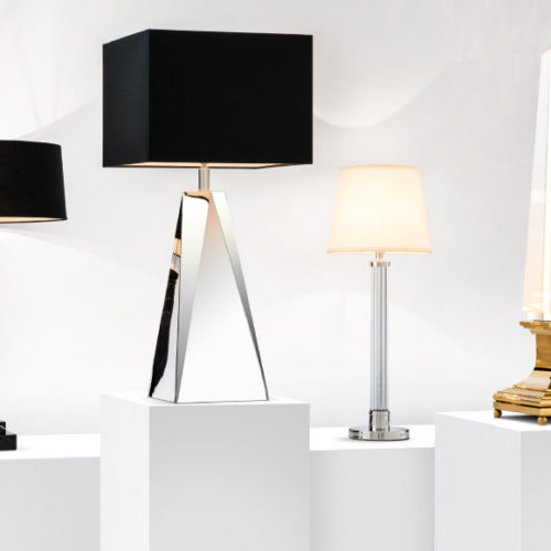 Лампы настольные в современном стиле из коллекции Kensington и Solaire, Нидерланды