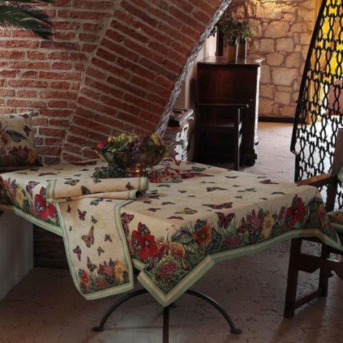 Скатертина, раннери, серветки з гобелену Home, Італія