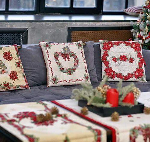 Новорічний текстиль для дому Home. Гобелен, Італія