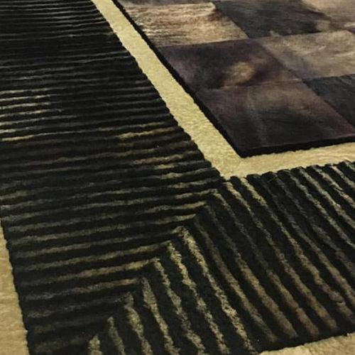 фото Килим клаптевий з натуральної овчини. Ручна робота. Колекція Mutton, Туреччина