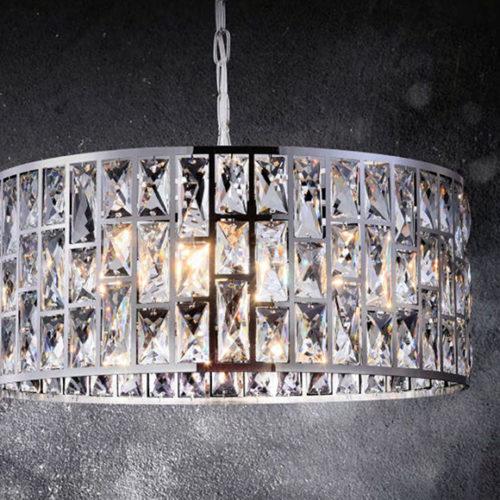 Люстра. Металлический каркас, хрусталь. Коллекция Gelid, Германия