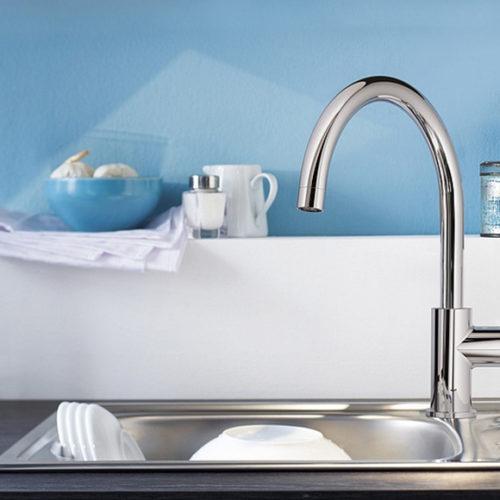 Смесители для кухни, ванной, раковины. Коллекция Bauloop, Германия