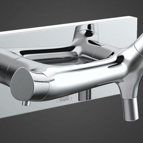 Фото Смеситель для ванной. Коллекция Organic Slim, Германия