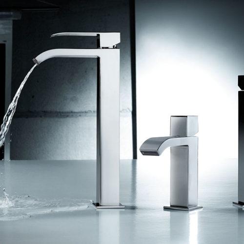 Смесители для ванной, раковины, биде. Коллекция Сuadro, Испания