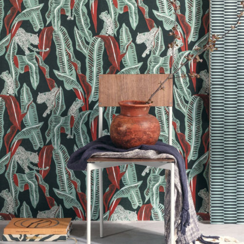 Обои флизелиновые с флористическим рисунком. Коллекция Ombra Zoom, Бельгия