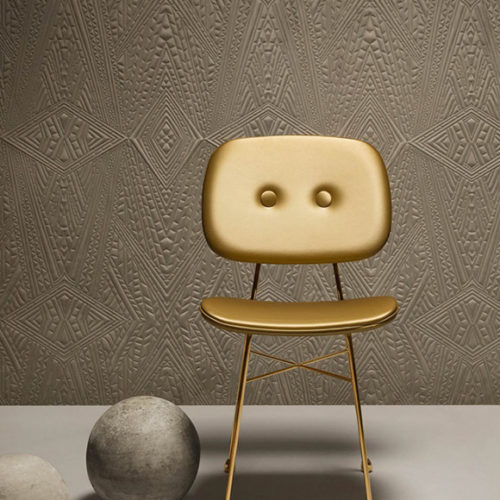Обои 3D. Мягкий текстиль на флизелине. Коллекция Dwarf Rhino, Бельгия