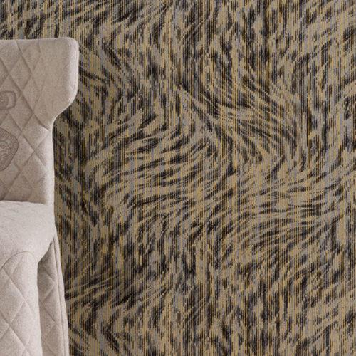 Обои флизелиновые с флоковой нитью. Имитация меха ленивца. Коллекция Blushing Sloth, Бельгия
