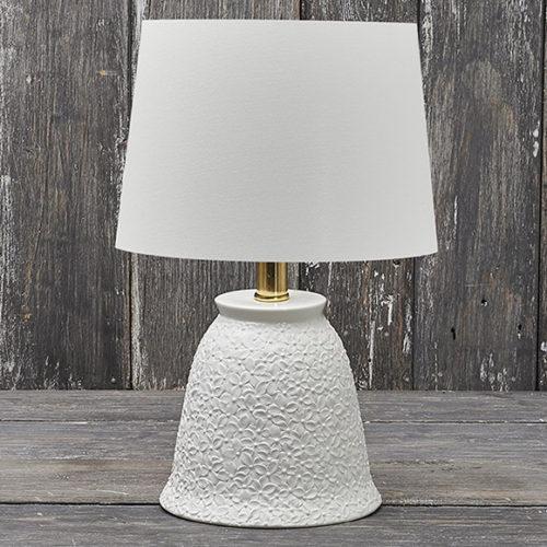 Лампа настольная. Итальянский фарфор и ткань Henriette