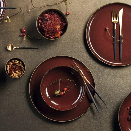 Блюда, тарелки, пиалы. Керамика, покрытая глазурью. Ручная работа. Коллекция Asa Kolibri, Германия. АКЦИЯ