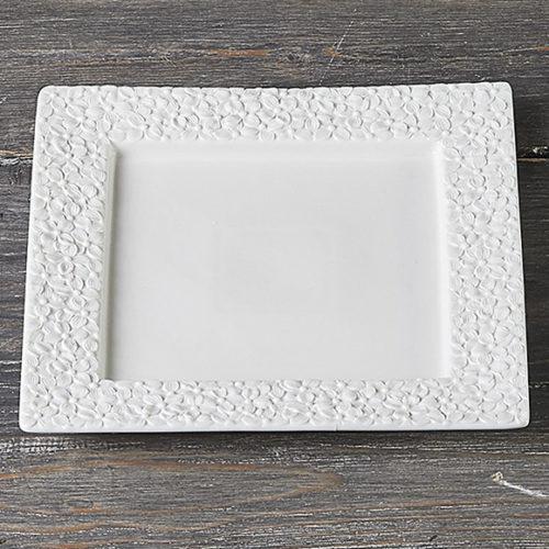 Блюдо квадратное. Итальянский фарфор Henriette. Коллекция Dalida