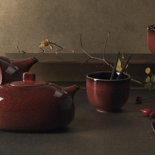 Сервиз чайный. Керамика ручной работы. Коллекция Asa Kolibri, Германия