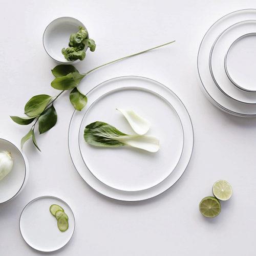 Блюда, тарелки, пиалы. Фарфор. Коллекция Asa OCO Noire, Германия
