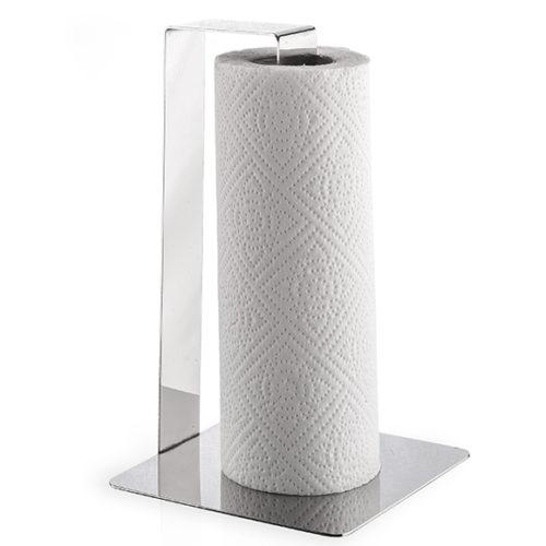 Держатель для кухонного полотенца. Полированная сталь. Elleffe Design. Коллекция Juta, Италия