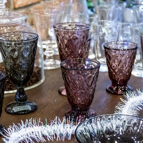 Бокалы. Цветное стекло La Rochere. Коллекция Lyonnais, Франция Скидки от -30% до -50% АКЦИЯ