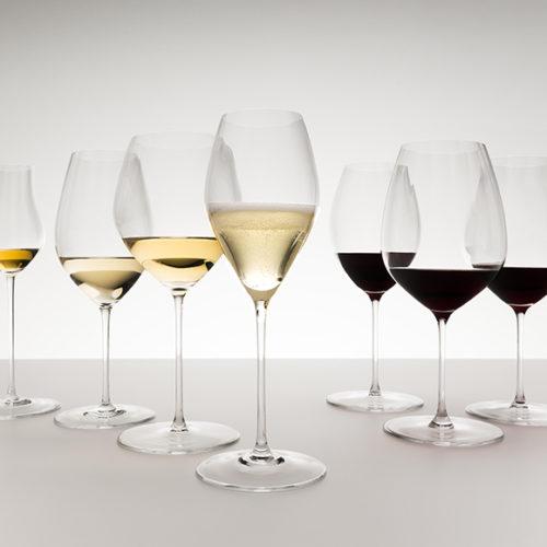 Колекція келихів для червоного і білого вина. Кришталь Riedel. Колекція Performance, Австрія