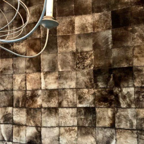 фото Килим клаптевий зі стриженої овчини. Ручна робота. Колекція Winter, Туреччина