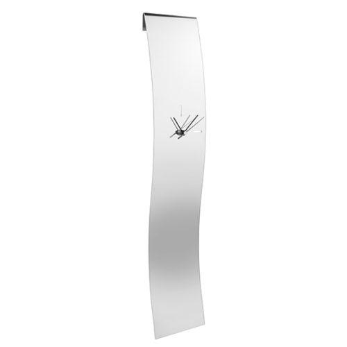 фото Часы настенные. Полированная сталь. Elleffe Design. Коллекция Orologi, Итали
