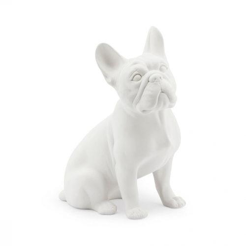 фото Скульптура собаки. Французький бульдог. Скловолокно. Колекція Bulldog, Італія