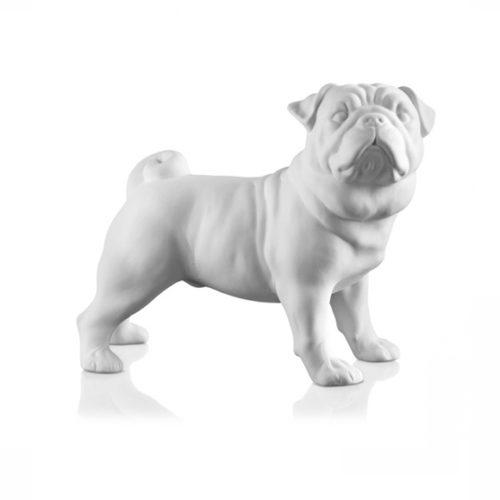 фото Скульптура собаки. Мопс. Скловолокно. Колекція Dogs, Італія