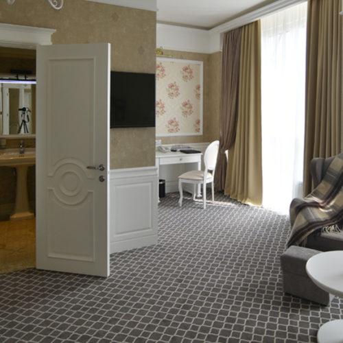 Коммерческое ковровое покрытие для гостиницы. Полиамид. Индивидуальный дизайн