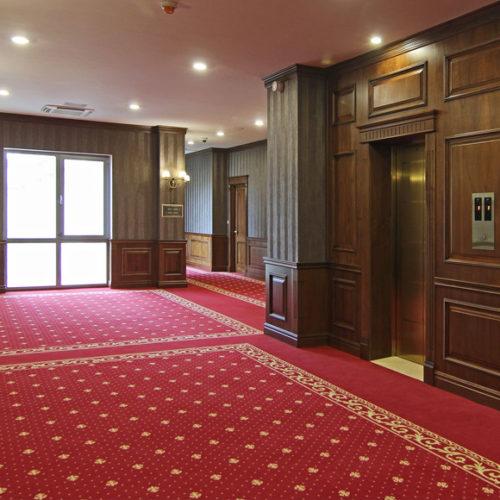 Коммерческое ковровое покрытие в гостиницу, офис, ресторан. Индивидуальное изготовление