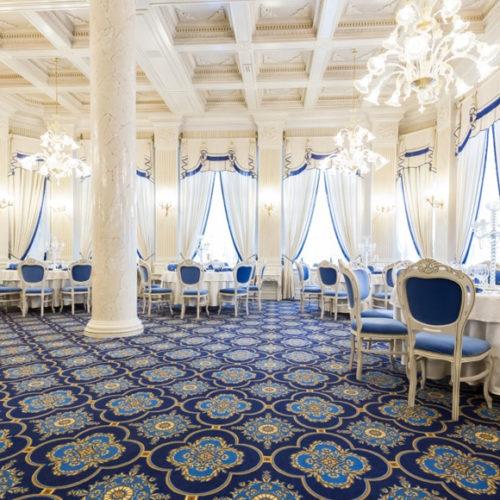 Коммерческое ковровое покрытие для ресторана, гостиницы, конференц зала. Полиамид. Коллекция WOOL DECOR