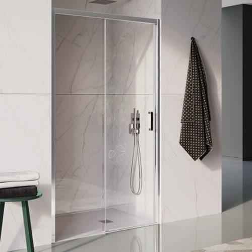 Душевая кабина. Система плавного закрывания дверей. Большой выбор дизайна панелей, профилей, стекла. Коллекция Cee Art, Италия