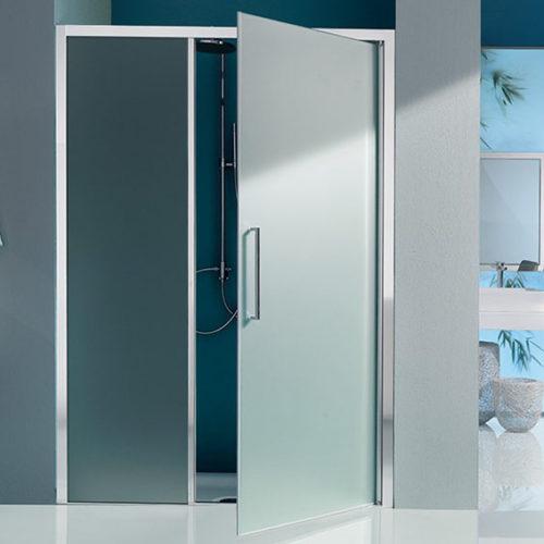 Фото Кабина душевая. Раздвижные или распашные двери. Система плавного закрывания. Коллекция Europa S