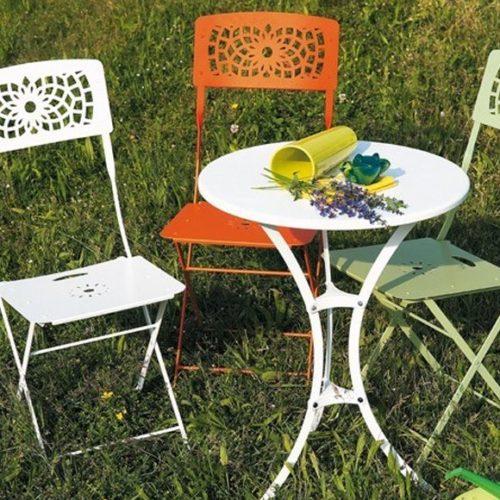 фотоМеблі для саду та відкритих літніх майданчиків. Метал. Колекція RAFFAELLO, Італія